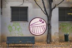 Mediolan (Włochy) przy spadkiem Zdjęcie Stock