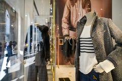 Mediolan Włochy, Wrzesień, - 24, 2017: Centu czerni sklep w Mediolan Zdjęcie Stock