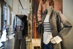 Mediolan Włochy, Wrzesień, - 24, 2017: Centu czerni sklep w Mediolan Obrazy Stock