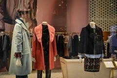 Mediolan Włochy, Wrzesień, - 24, 2017: Centu czerni sklep w Mediolan Obraz Royalty Free