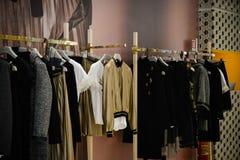 Mediolan Włochy, Wrzesień, - 24, 2017: Centu czerni sklep w Mediolan Obraz Stock