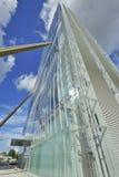 Mediolan, Włochy, Citylife nowy drapacz chmur obrazy stock