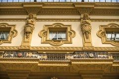 MEDIOLAN, WŁOCHY - 13-05-2017: Galleria Vittorio Emanuele II w Milie Obraz Stock
