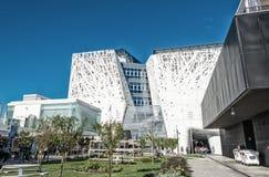 MEDIOLAN, WRZESIEŃ - 24, 2015: Niezidentyfikowani ludzie wizyty expo 2015 Obrazy Stock