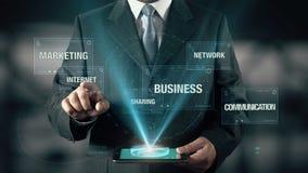 Medios comunicación social de la red del negocio de la distribución de márketing de Internet
