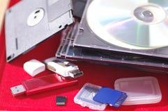 Medios de almacenamiento Fotos de archivo libres de regalías