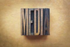 Medios de comunicación imagenes de archivo