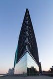 Medios edificio de Aller en Copenhague, Dinamarca Imagenes de archivo
