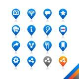 Medios iconos sociales - serie de la simplicidad ilustración del vector