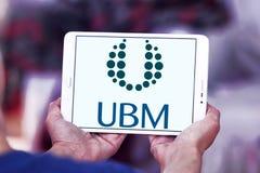 Medios logotipo de la compañía de UBM Fotos de archivo