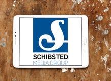 Medios logotipo del grupo de Schibsted Foto de archivo libre de regalías