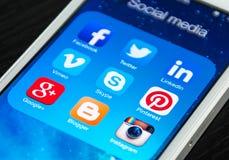Medios sociales Fotografía de archivo