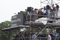 Medios y prensa nacional Foto de archivo