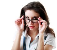 Medique a vista Imagens de Stock Royalty Free