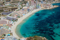 Medirerranean Coast - Calpe Royalty Free Stock Image