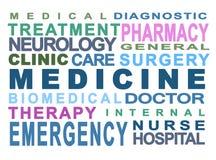 Medisch concept stock illustratie