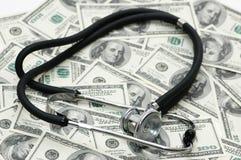 Medisch concept - stethoscoop Stock Afbeelding