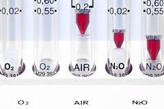 Medisch hulpmiddel. Gasrotameter. Royalty-vrije Stock Foto's