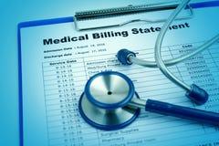 Medisch kostenconcept Royalty-vrije Stock Afbeelding