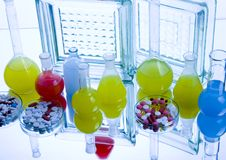 Medisch laboratorium Royalty-vrije Stock Foto