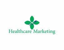 Medisch marketing embleem Stock Afbeeldingen
