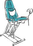 Medisch meubilair Stoel Royalty-vrije Stock Foto