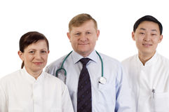 Medisch team. Royalty-vrije Stock Afbeeldingen