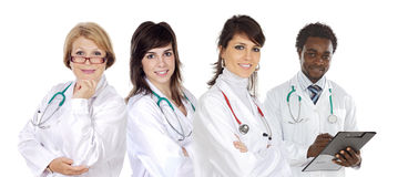 Medisch team Stock Foto's