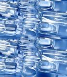 Medische ampules van het glas stock afbeelding