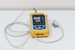 Medische apparatuur en zuurstof Stock Fotografie