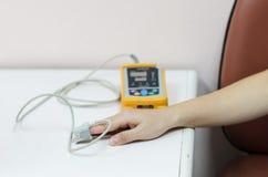 Medische apparatuur en zuurstof Royalty-vrije Stock Foto