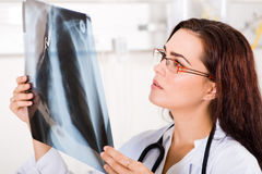 medische arbeider Stock Foto's