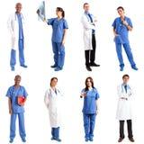 Medische arbeiders Stock Afbeelding