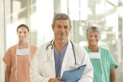 Medische arts en personeel Royalty-vrije Stock Afbeeldingen