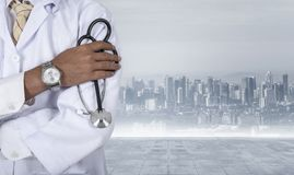 Medische arts, geduldig, Royalty-vrije Stock Foto's