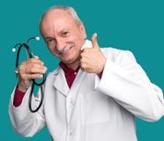 Medische arts met stethoscoop Royalty-vrije Stock Fotografie