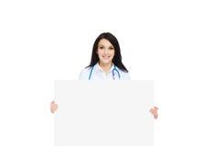 Medische artsenvrouw Stock Foto
