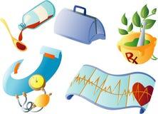 Medische Clipart royalty-vrije illustratie