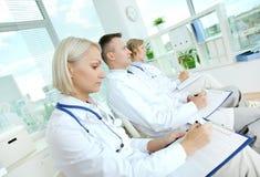 Medische conferentie stock foto's