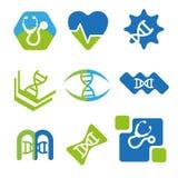 Medische emblemen Royalty-vrije Stock Foto