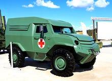 Medische en sanitaire auto Stock Foto