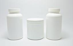 Medische fles Royalty-vrije Stock Foto