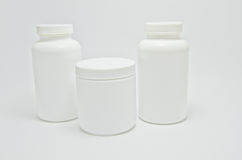 Medische fles Royalty-vrije Stock Foto's