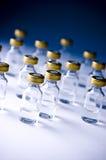 Medische flesjes Royalty-vrije Stock Afbeelding