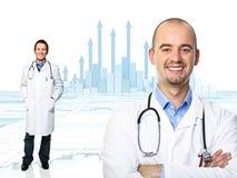 Medische grafiek Stock Afbeelding