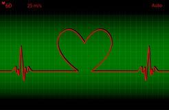 Medische hartslag royalty-vrije illustratie