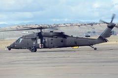 Medische helikopter Stock Foto's
