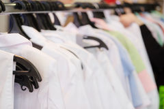 Medische kleding op honger royalty-vrije stock afbeelding