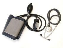 Medische manometer en stethoscoop stock fotografie