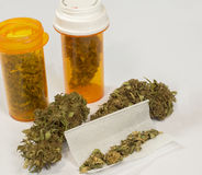 Medische marihuana 4 Royalty-vrije Stock Afbeeldingen
